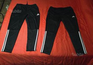pantaloni tuta uomo cotone leggero adidas