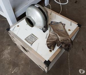 forno elettrico per pizzeria usato con cappa a carbone attiv