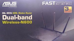 ASUS modem ADSL router wifi DSL-N55U
