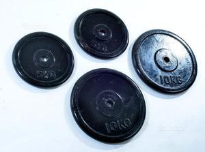Dischi in ghisa per palestra 10kg - 5kg