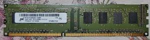 Ram Micron DDR3 2 GB  MHz Cl 11 1rx8 PC