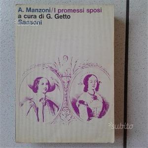 I PROMESSI SPOSI - Ed. Sansoni anni '70