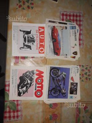 Schede tecniche auto e moto