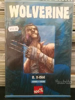 Wolverine.- 2.x-isle - collezione 100% marvel