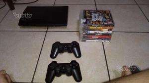 PS3 2 Joystick 10 Giochi