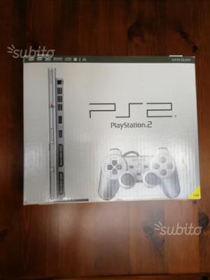 Playstation 2 + memory card + 2 joypad e 7 giochi