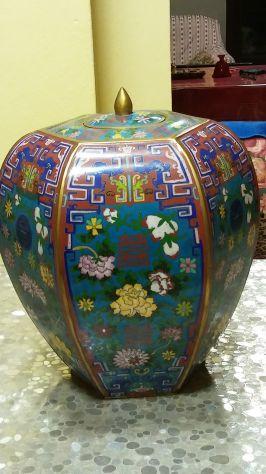 vaso esagonale cinese primi 900
