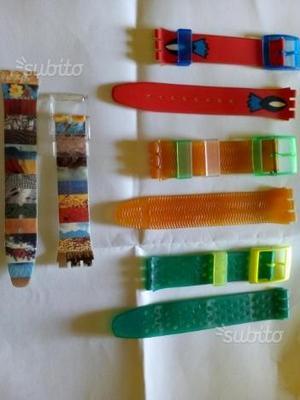 Cinturini vintage per swatch originali