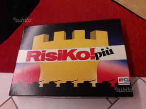 RISIKO PIÙ gioco da tavolo anni 80 perfetto