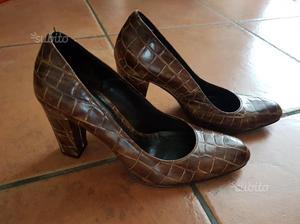 Pelle Scarpe Vintage O Posot In Marroni Nere Class wEdnxqBnv8 467066548e9