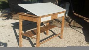 antico tecnigrafo restaurato ideale per uffici di