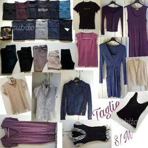 Blocco 31 pezzi abbigliamento donna taglie S ed M