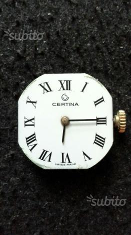 Movimento per orologio CERTINA
