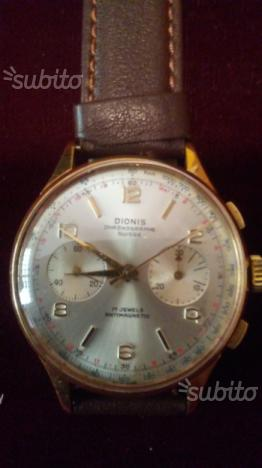 Orologio cronografo in oro