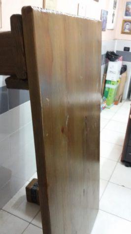 bellissimo tavolo rustico in legno massiccio