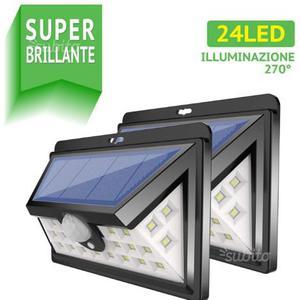 24 LED Luce solare Esterna
