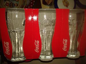 9 bicchieri COCA COLA e 6 calici CERVE
