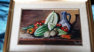 Due dipinti a olio piccoli originali