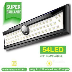 LED Luce Solare Esterna