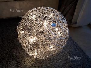 Lampada da terra design fil de fer catellani smith