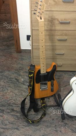 Fender squier affinity telecaster mn butterscotch