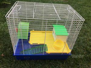 Gabbietta per criceti, conigli e piccoli roditori