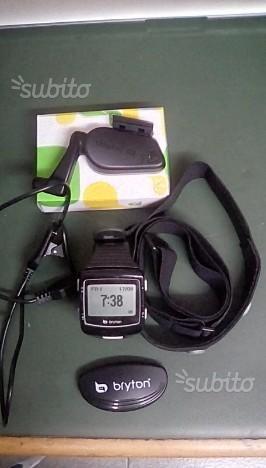 Bryton cardio 60 con fascia cardio e sensore bici