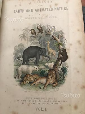 History earth Animated nature Goldsmith  vol