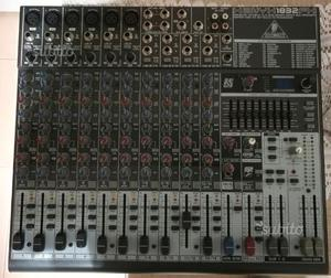 Mixer behringer fx 100 effetti