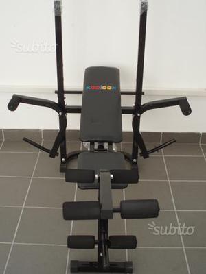 Panca fitness gymline con pesi