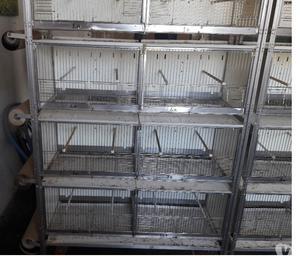 Batteria di gabbie (rastrelliera) e altre gabbie