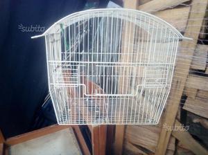 Voliera gabbia per uccelli marca ferplast in posot class for Altalena legno usata