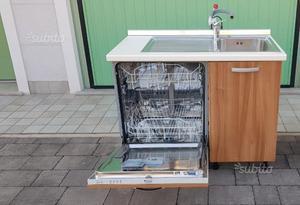 Mobile lavello incasso per lavastoviglie posot class - Mobile per lavandino cucina ...