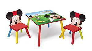 Set tavolo e sedie Topolino