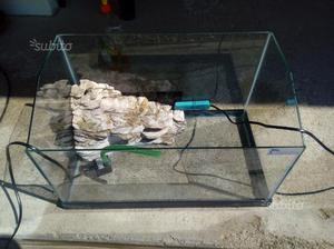 Tartarughiera e filtro esterno completo pompa posot class for Lampada tartarughiera