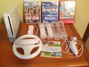 Console Nintendo Wii bianca, accesso e giochi