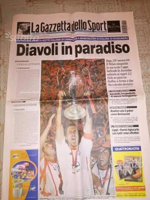 Gazzetta dello sport Milan