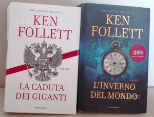 Ken Follett - 2 libri con copertina rigida