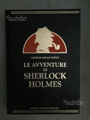 Libro Sherlock Holmes Peruzzo editore