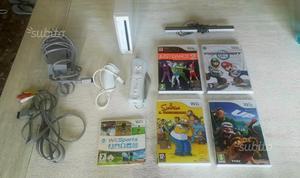 Nintendo Wii bianca + giochi