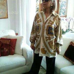 Camicia donna vintage Hermes originale