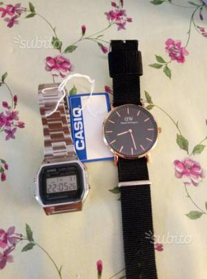 Casio e Daniel Wellington
