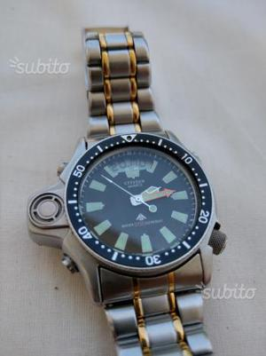 Citizen aqualand 1 bicolore prima serie da posot class for Sveglia thun prezzo
