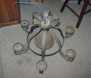 antico lampadario fine 800