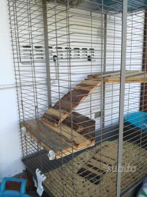 Gabbia per conigli - criceti