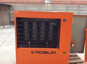 Generatore aria calda robur posot class for Muro robur
