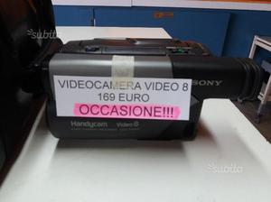 Videocamera Video 8 con garanzia di 3 mesi