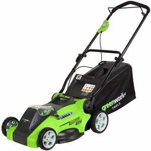 Greenworks Tosaerba a Batteria 40V non Inclusa G40LM cm
