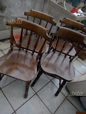 4 sedie stile country old america