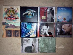 CD Originali di Ligabue e di Biagio Antonacci